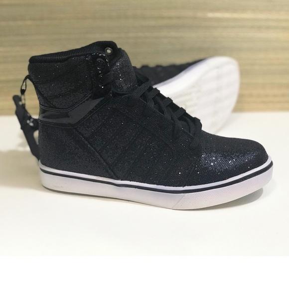 Op Girls Athletics Glitter Shoe Kid Sneaker Size 3 fe5266fd3
